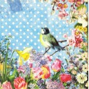 Serwetka do decoupage Vintage bird