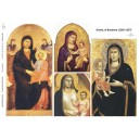 Papier do decoupage (A3), ITD 0277 Ikona Giotto