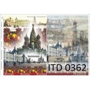 Papier do decoupage (A3), ITD 0362 Moskwa
