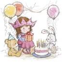 Serwetka Urodziny