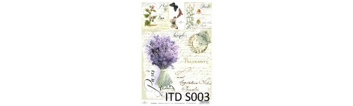 Papier do decoupage SOFT ITD A4